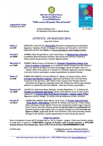 Copertina Pompei Sud MAGGIO 2014