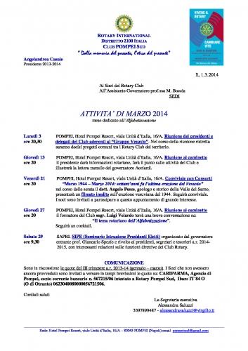 Copertina Pompei Sud MARZO 2014