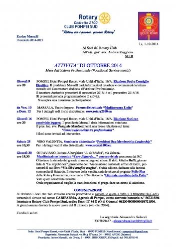 Copertina Pompei Sud OTTOBRE 2014