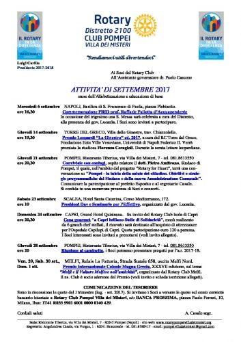programma settembre 2017 1