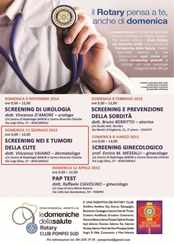 screening nei e tumori cute