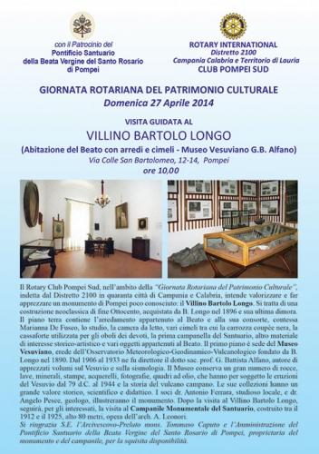 visita guidata Villino Bartolo Longo